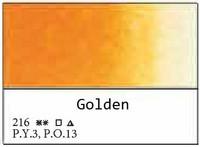 White Nights akvarellinappi 216 Golden