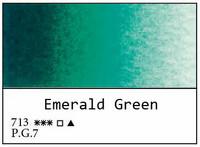 White Nights akvarellinappi 713 Emerald green