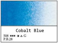 White Nights akvarellinappi 508 Cobalt blue