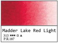 White Nights akvarellinappi 313 Madder lake red li