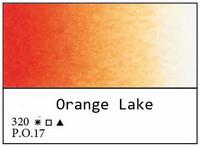 White Nights akvarellinappi 320 Orange lake