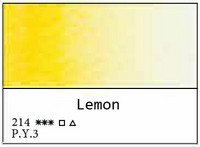 White Nights akvarellinappi 214 Lemon