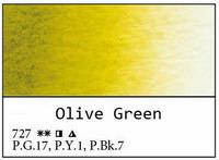 White Nights akvarellinappi 727 Olive green