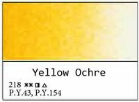 White Nights akvarellinappi 218 Yellow ochre