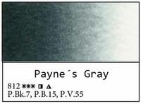 White Nights akvarellinappi 812 Payne's grey