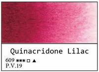 White Nights akvarellinappi 609 Quinacridone lilac