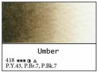 White Nights akvarellinappi 418 Umber