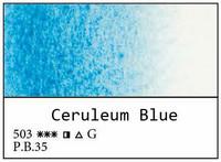 White Nights akvarellinappi 503 Ceruleum blue