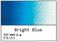 White Nights akvarellinappi 509 Bright blue