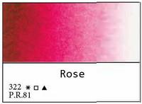 White Nights akvarellinappi 322 Rose
