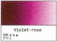 White Nights akvarellinappi 608 Violet rose