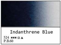 White Nights akvarellinappi 524 Indanthrene blue