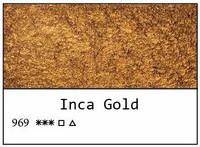 White Nights akvarellinappi 969 Inca Gold
