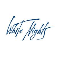 White Nights akvarellinappi 961 Silver light