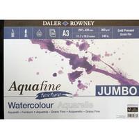 Akvarellilehtiö DR Aquafine A3 300g Jumbo 50 sivua