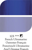 DR Georgian öljyväri 38ml 123 French ultramarine