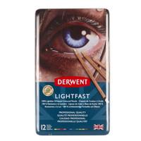 Derwent Lightfast 12 värikynää