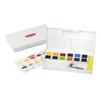 Inktense Pan travel set mustevesivärit
