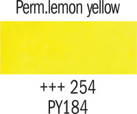 Gogh akv. 10ml 254 Perm lemon yellow
