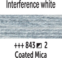 Gogh akv. 10ml 843 Interference white