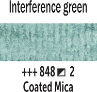 Van Gogh akv. 848 Interference green