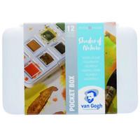 Van Gogh shades of nature 12 nappia
