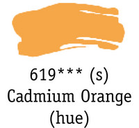 DR System 3 acrylic 150ml 619 Cadmium orange (hue)
