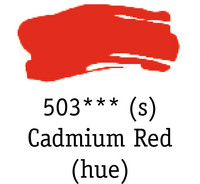 DR System 3 acrylic 150ml 503 Cadmium red (hue)