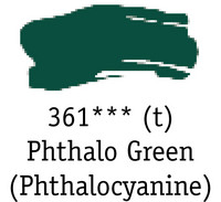 DR System 3 acrylic 150ml 361 Phthalo green