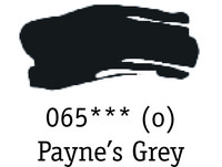 DR System 3 acrylic 150ml 065 Paynes grey
