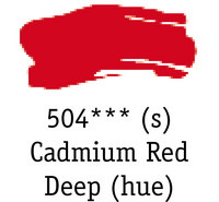 DR System 3 acrylic 500ml 504 Cad red deep (hue)