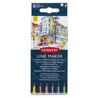 Derwent Line Maker 6 värikynät