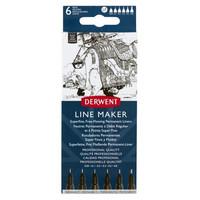 Derwent Line Maker 6 musta