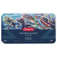 Derwent Inktense Blocks -musteväriliidut, 36 kpl