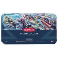 Derwent Inktense Blocks -musteväriliidut, 72 kpl