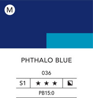 L&B Flashe Acrylic 80ml 036 Phthalocyanine Blue