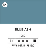 L&B Flashe Acrylic 80ml 052 Ash blue