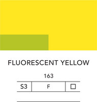L&B Flashe Acrylic 80ml 163 Fluorescent yellow