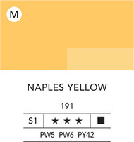 L&B Flashe Acrylic 80ml 191 Naples Yellow Hue