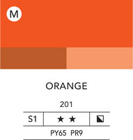 L&B Flashe Acrylic 80ml 201 Orange