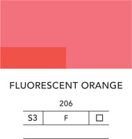 L&B Flashe Acrylic 80ml 206 Fluorescent orange