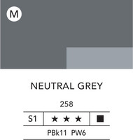 L&B Flashe Acrylic 80ml 258 Neutral Grey