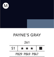 L&B Flashe Acrylic 80ml 261 Payne's Grey