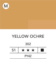 L&B Flashe Acrylic 80ml 302 Yellow ochre