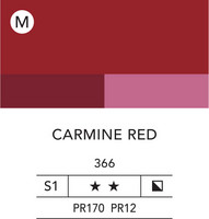 L&B Flashe Acrylic 80ml 366 Carmine Red