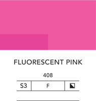 L&B Flashe Acrylic 80ml 408 Fluorescent pink