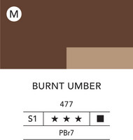 L&B Flashe Acrylic 80ml 477 Burnt Umber