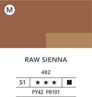 L&B Flashe Acrylic 80ml 482 Raw Sienna