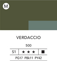 L&B Flashe Acrylic 80ml 500 Verdaccio (green)