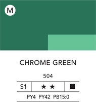 L&B Flashe Acrylic 80ml 504 Chrome Green